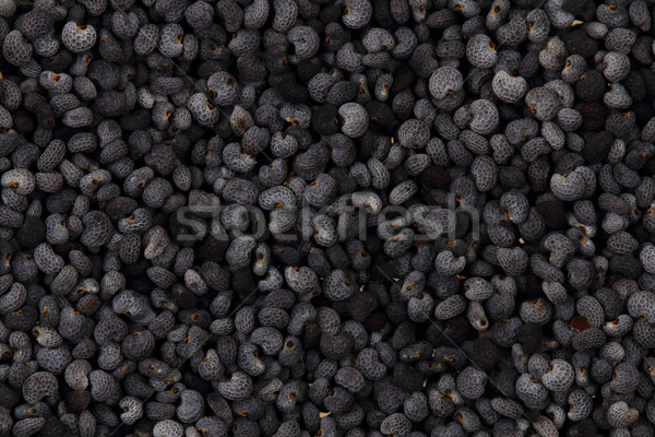 natural poppy seeds background Stock photo © jonnysek