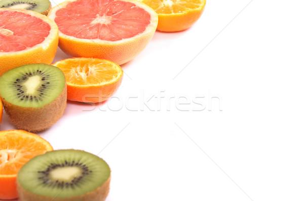 fruit background Stock photo © jonnysek