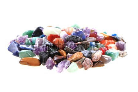 collection of gems and minerals Stock photo © jonnysek