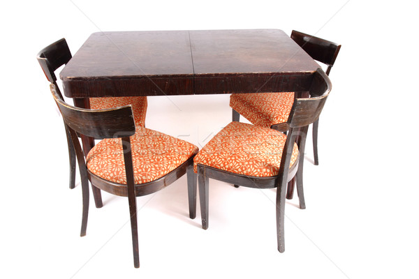 dining table and chairs  Stock photo © jonnysek