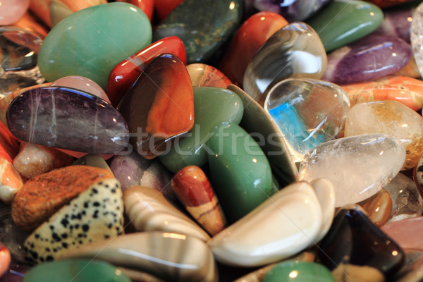 Stock photo: color minerals background