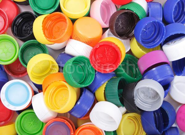 plastic backgroud Stock photo © jonnysek