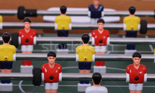 Tabela futebol bom verde jogadores grama Foto stock © jonnysek