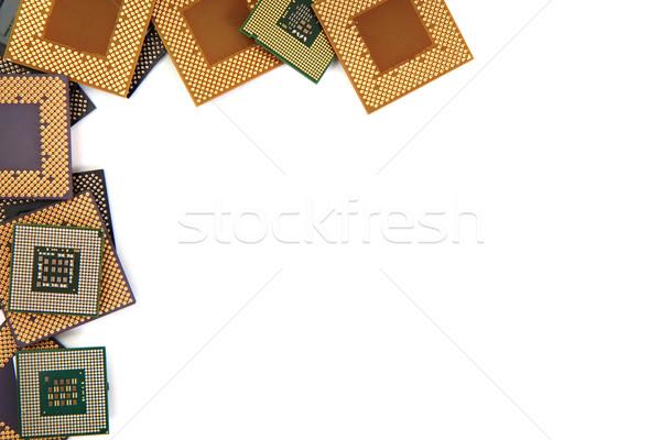 microprocessors as background Stock photo © jonnysek