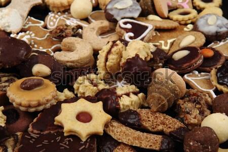 Foto stock: Tradicional · tcheco · natal · bolinhos · bom · férias