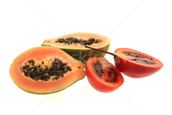 exotic fruits isolated Stock photo © jonnysek