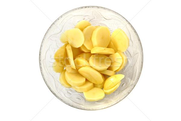 potatoes in the glass Stock photo © jonnysek