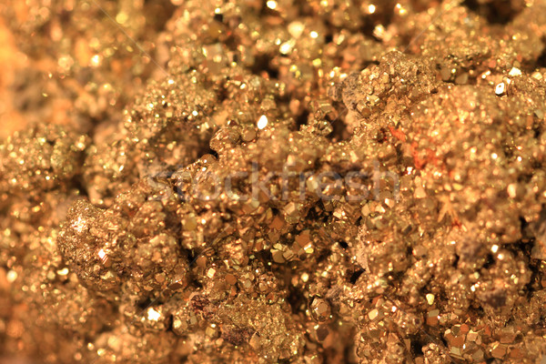 abstract gold mineral background Stock photo © jonnysek