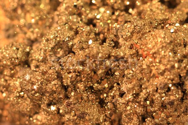 аннотация золото минеральный текстуры Nice природного Сток-фото © jonnysek