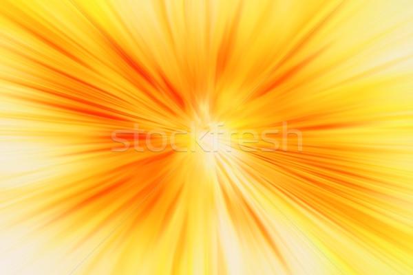 Abstract textuur gegenereerde zon Rood Maakt een reservekopie Stockfoto © jonnysek