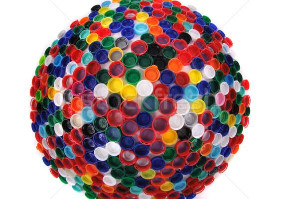 color plastic caps  Stock photo © jonnysek