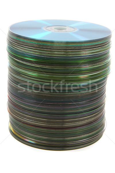 DVD spindle Stock photo © jonnysek