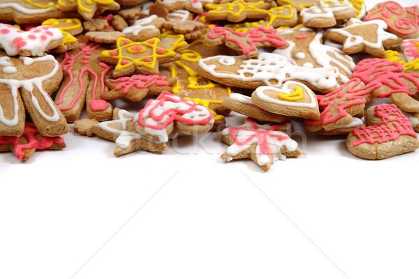 Foto stock: Natal · pão · de · especiarias · tradicional · caseiro · República · Checa · fundo