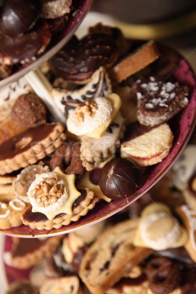 Foto stock: Bolinhos · República · Checa · tradicional · doce · festa