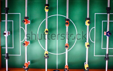 table soccer game Stock photo © jonnysek