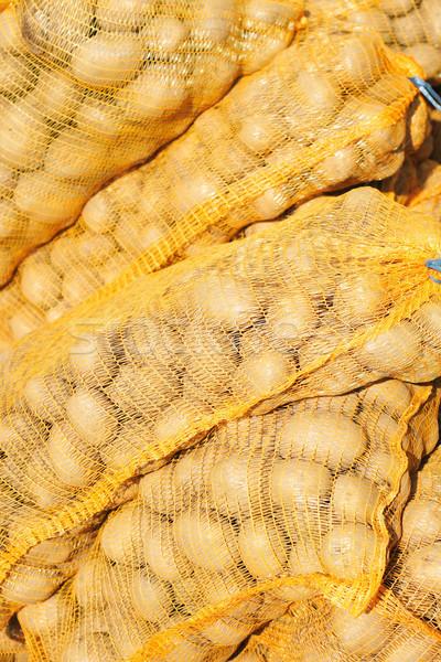 potatoes background Stock photo © jonnysek