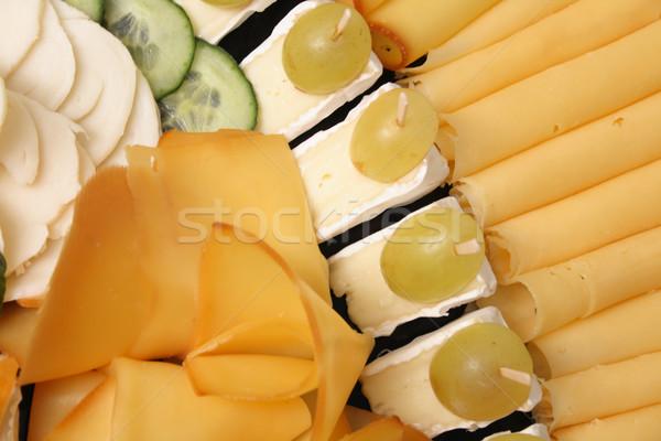 cheese background Stock photo © jonnysek