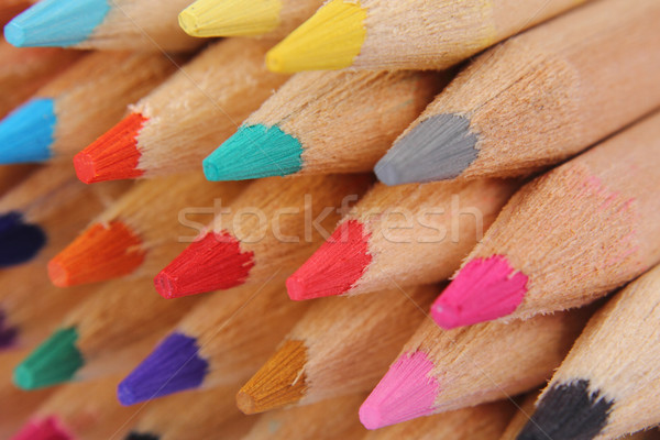 color crayons  Stock photo © jonnysek