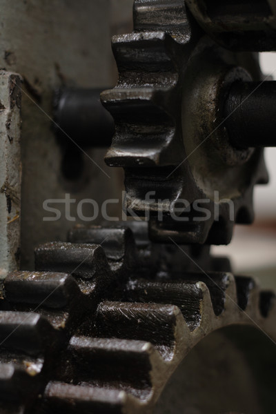 machine industry background Stock photo © jonnysek