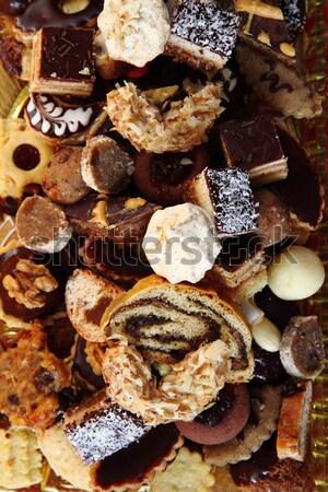 Tradicional checo Navidad cookies agradable vacaciones Foto stock © jonnysek