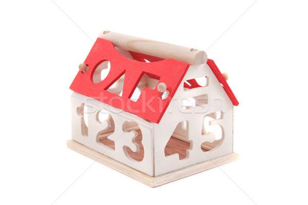 toy house isolated Stock photo © jonnysek