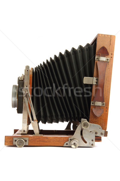 old wooden camera Stock photo © jonnysek