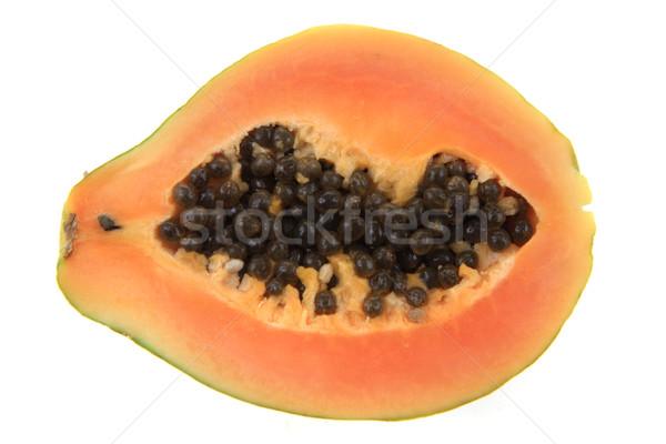 papaw fruit isolated Stock photo © jonnysek