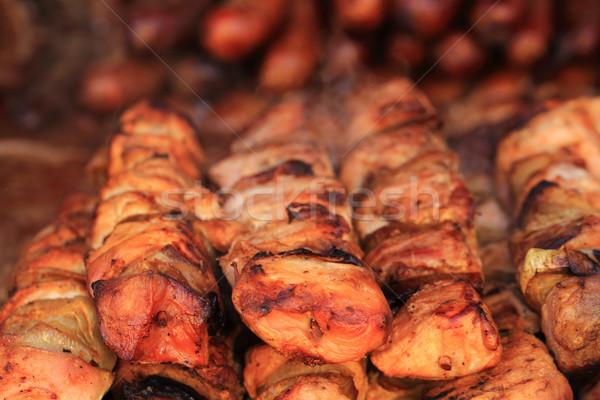 ızgara soğan güzel gurme gıda yaz Stok fotoğraf © jonnysek