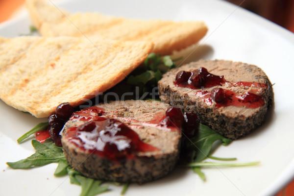 meat pasty food Stock photo © jonnysek