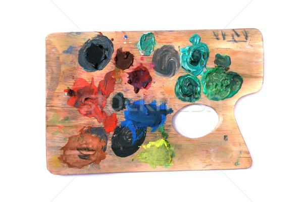 color pallete Stock photo © jonnysek