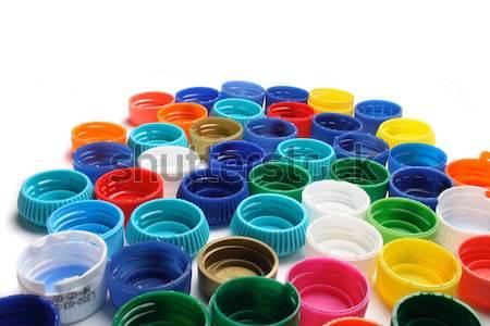 plastic caps  Stock photo © jonnysek