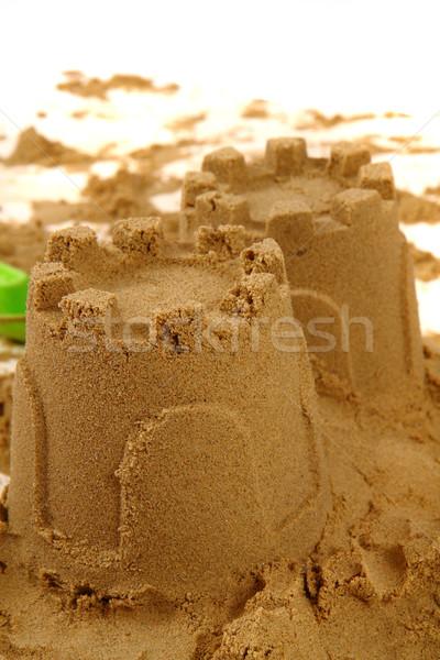 tower from the sand  Stock photo © jonnysek