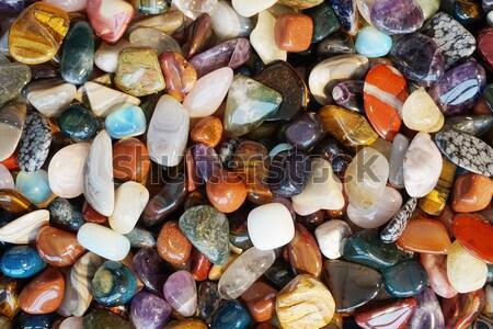 Kleur textuur mooie natuurlijke groep paars Stockfoto © jonnysek