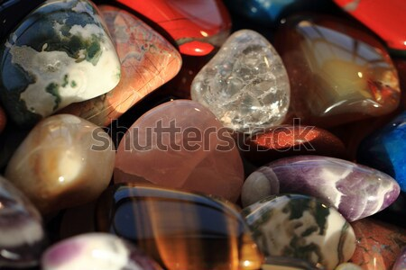 color gems background  Stock photo © jonnysek