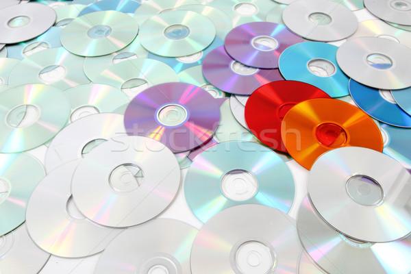 Technológiák cd szép zene absztrakt technológia Stock fotó © jonnysek