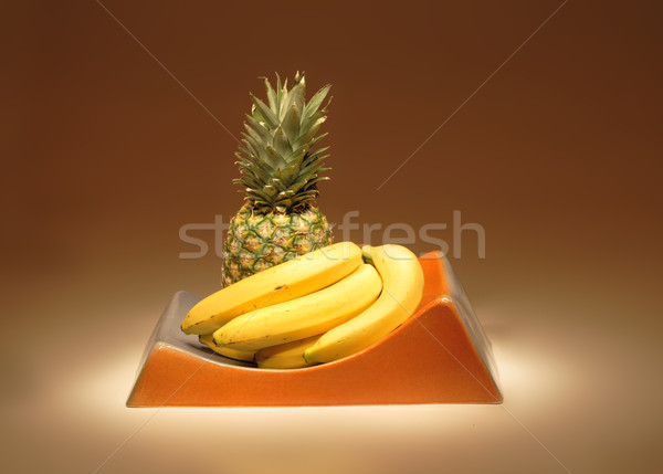 fruit in ceramics Stock photo © jonnysek