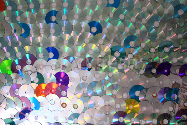 color CD and DVD background Stock photo © jonnysek