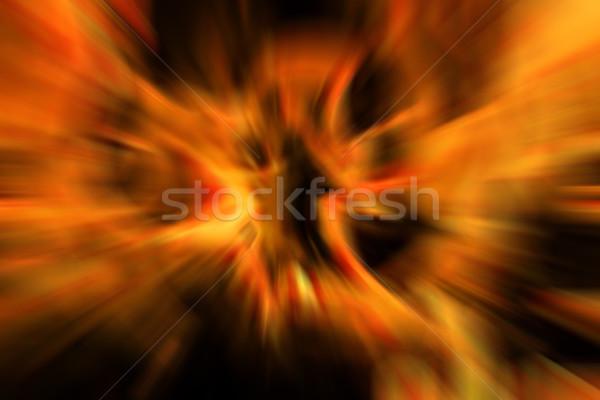 Abstract textuur gegenereerde zon energie macht Stockfoto © jonnysek