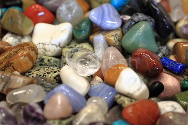 Colore minerali nice naturale texture blu Foto d'archivio © jonnysek
