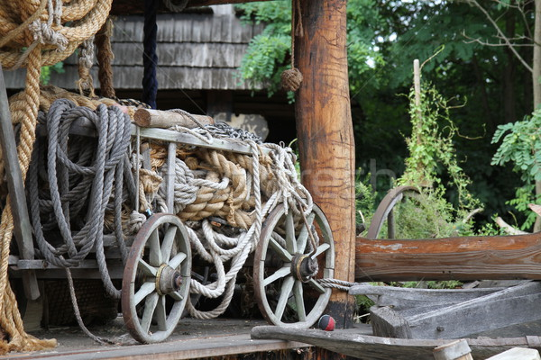 old rope factory Stock photo © jonnysek