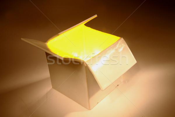 color box in the dark Stock photo © jonnysek