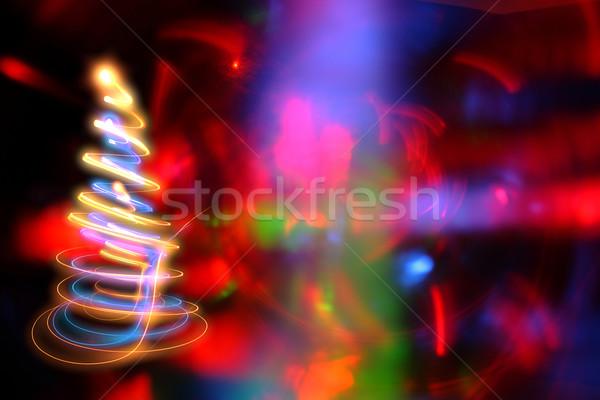 Resumen color diferente luces textura luz Foto stock © jonnysek