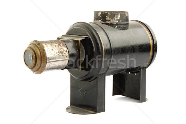 Projector geïsoleerd witte technologie elektrische show Stockfoto © jonnysek