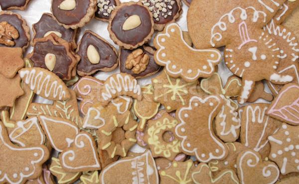 christmas cookies from czech republic Stock photo © jonnysek