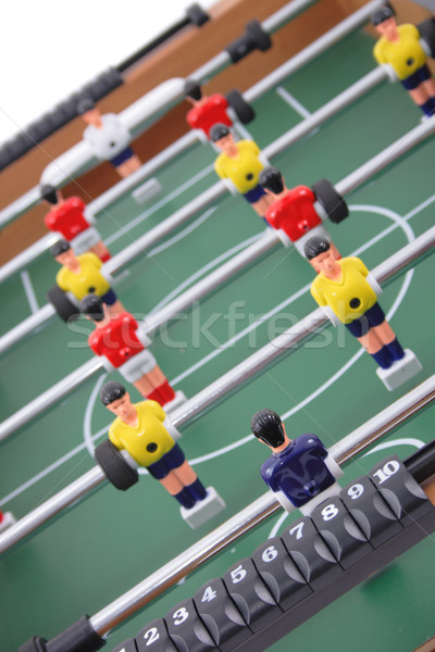 table soccer background Stock photo © jonnysek