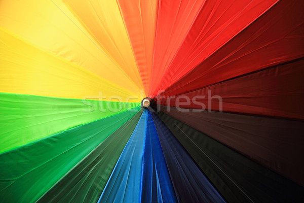 Color sombrilla agradable arco iris textura diseno Foto stock © jonnysek