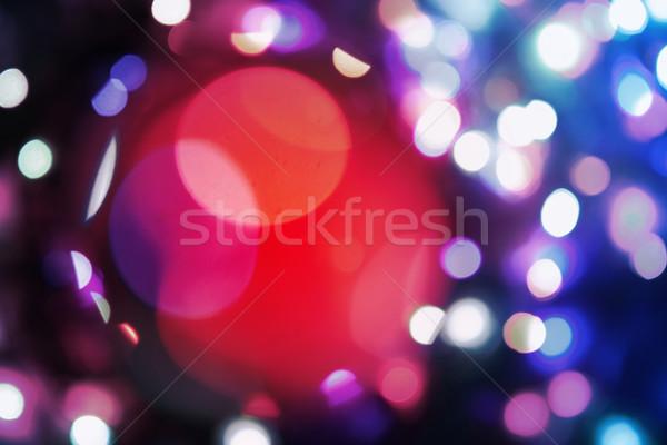 christmas color lights background Stock photo © jonnysek