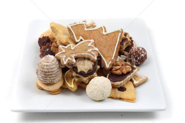 christmas cookies and desserts  Stock photo © jonnysek