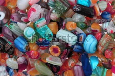 Plastikowe diamentów sieczka tekstury kobiet streszczenie Zdjęcia stock © jonnysek