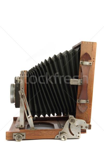 very old photo camera Stock photo © jonnysek